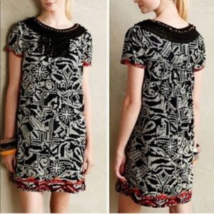 ANTHROPOLOGIE floreat abelia dress